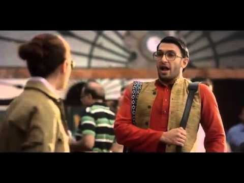 Thumbnail: Watch Cute Ad Ranveer Singh and Alia Bhatt in makemytrip ad #BefikarBookKar