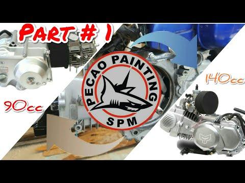 HONDA SUPER CUB 90cc modified to 140cc 2019 Part# 1