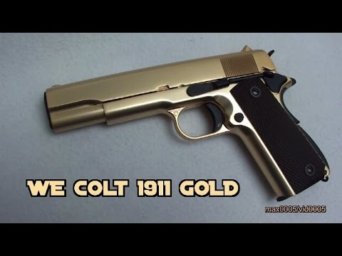 We Tech Colt 1911 Gold Edition