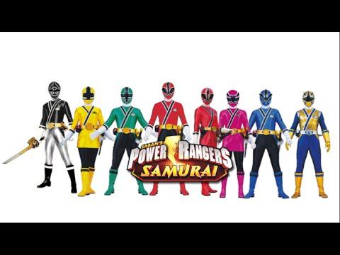 Power Rangers Samurai Full Team (Fan Art) - YouTube