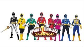 Power Rangers Samurai With Black Ranger