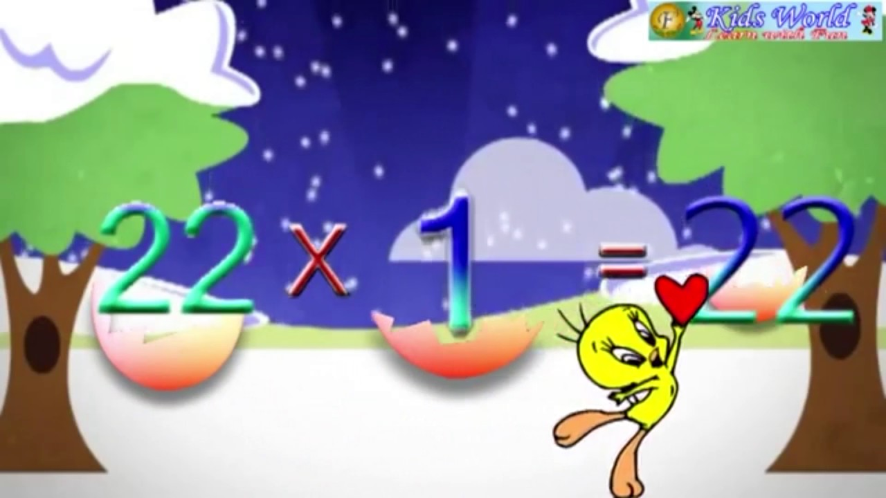 Multiplication table 21 to 25 for children youtube multiplication table 21 to 25 for children gamestrikefo Gallery
