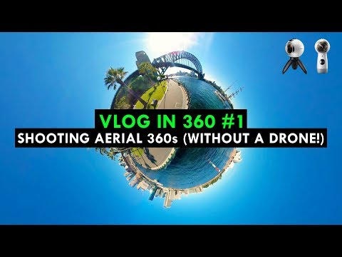 Shooting Aerial 360s (Without A Drone!)