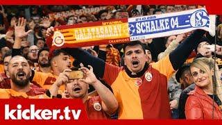 Im Herzen Löwe, im Pott zu Hause - Galatasaray-Fans auf Schalke | kicker.tv