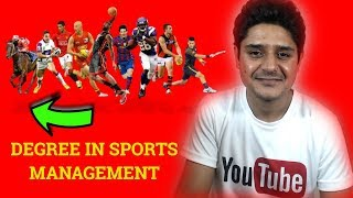 sports managment india degree career and sports management colleges review in hindi