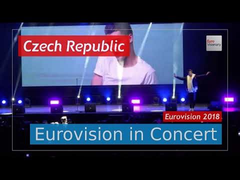 Czech Republic Eurovision 2018 Live: Mikolas Josef - Lie To Me - Eurovision in Concert