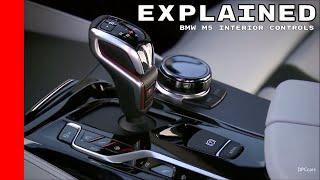 2018 BMW M5 Interior Controls Explained