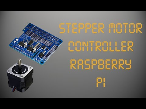 Stepper Motor Control (Raspberry Pi)