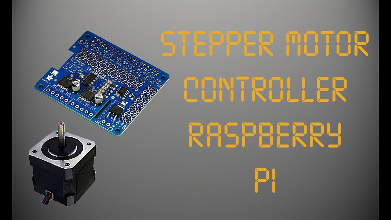 Stepper Motor Control (Raspberry Pi)