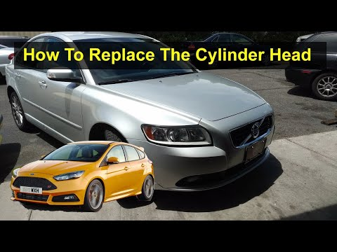 How to replace the cylinder head P1 5 cylinder Volvo S40, V50, C70, C30, Ford Focus, etc. – REMIX