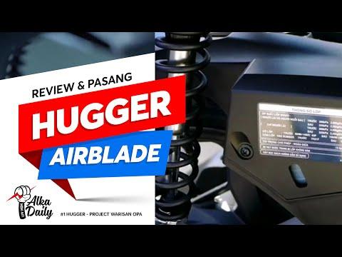 Cara Pasang Hugger Airblade Di Vario  Review  Tutorial