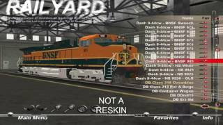 Video All My Trainz 2006 Reskins including engines from Canadian Express download MP3, 3GP, MP4, WEBM, AVI, FLV Desember 2017