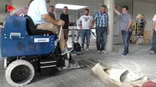 Jak strhnout PVC nebo koberce z podlahy