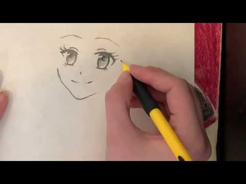 How To Draw An Anime/manga Girl For Beginners! (Narrated Step By Step)