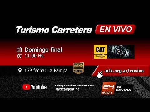 13-2017) La Pampa: Domingo Series TC y Finales