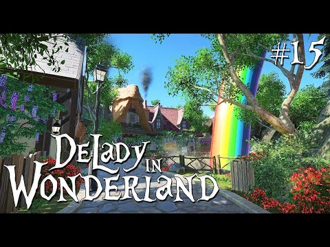 Planet Coaster (fairytale - fantasy): DeLady in Wonderland - Ep. 15 - The first end of the rainbow