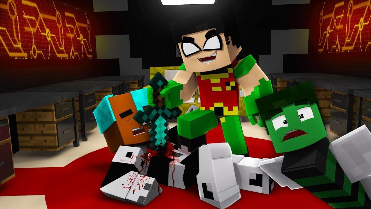 Teen Titans Go In Minecraft Hide And Seek Challenge -2053