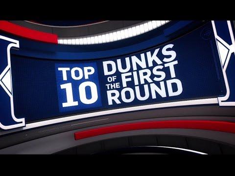 Top 10 Dunks of the First Round | 2017 NBA Playoffs