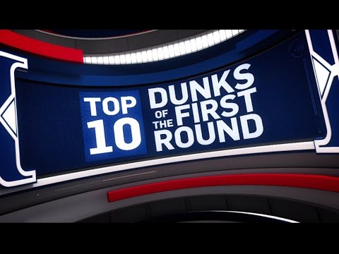 Thumbnail: Top 10 Dunks of the First Round | 2017 NBA Playoffs