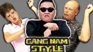 Repeat youtube video ELDERS REACT TO GANGNAM STYLE