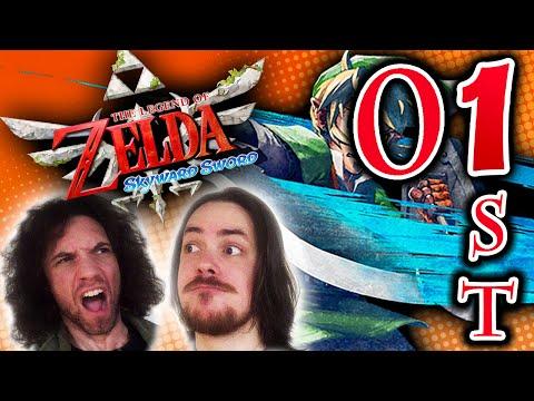 """Zelda Skyward Sword: April Fools FaceCam """"Fixed Edition"""" – PART 01st – GAME GRUMPS"""