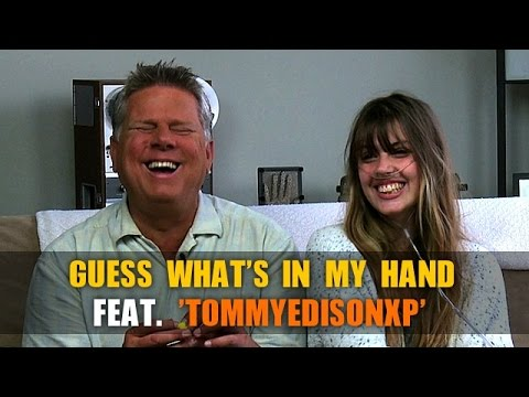Guess What's In My Hand Challenge with Tommy Edison (Blind Film Critic)