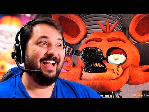 COMO SERIA A CUSTOM NIGHT DE FIVE NIGHTS AT FREDDY'S 6 SEGUNDO OS FÃS DE FNAF?