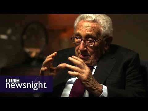 Henry Kissinger on Donald Trump: 'He cannot reinvent history'- BBC Newsnight