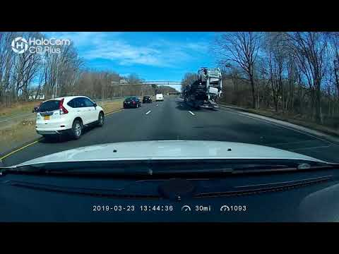 Car Carrier Crash   Norwalk, CT 03/23/19