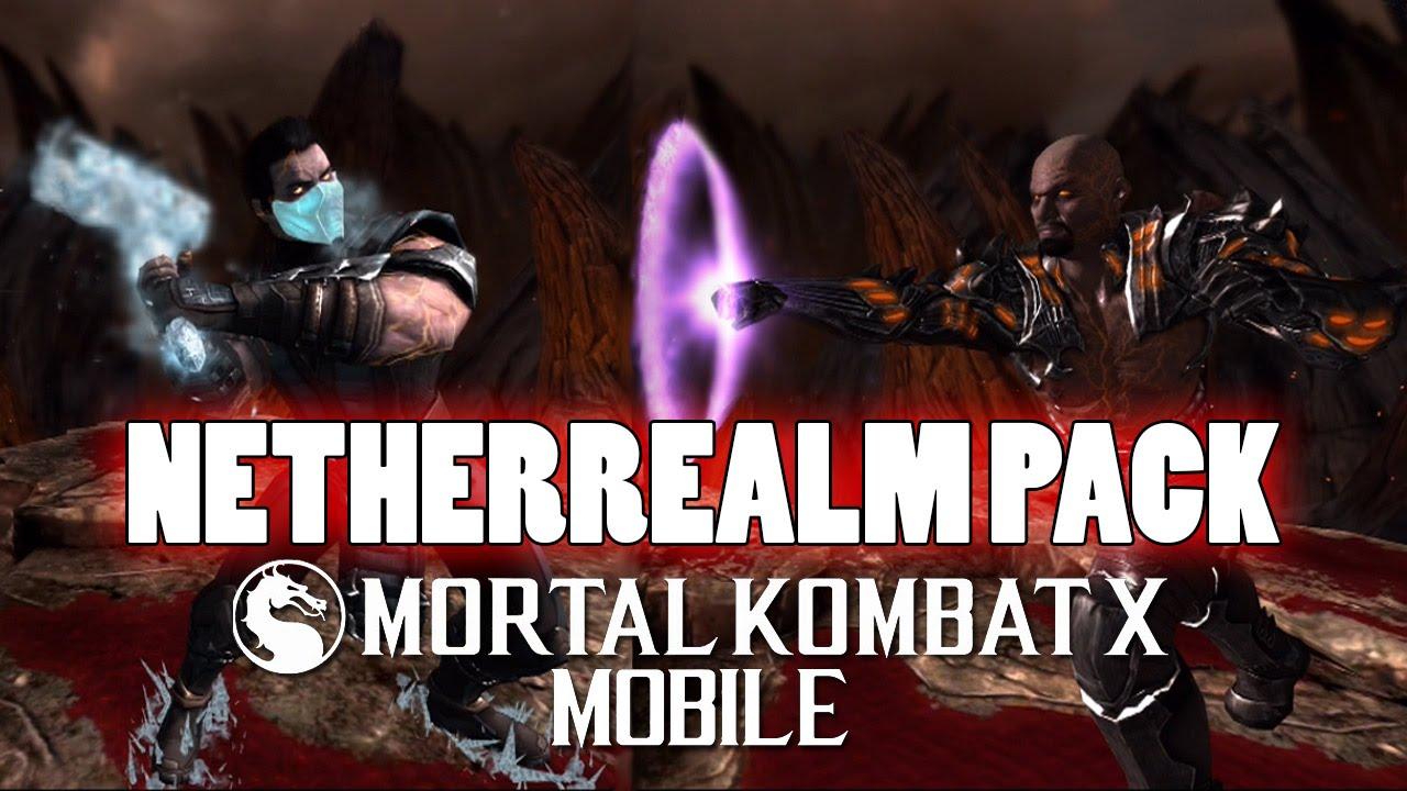 mortal kombat x mobile gameplay