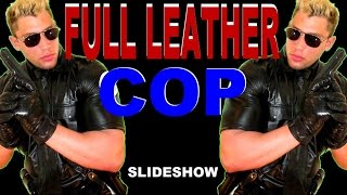 Full Leather Cop