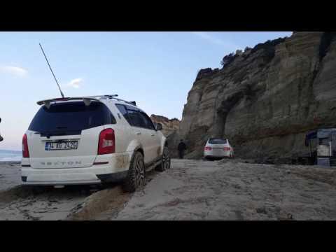 SSANGYONG REXTON TEAM ISTANBUL OFFROAD BEACH