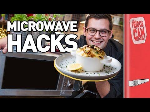 Microwave Risotto Recipe?! | 5 Microwave Hacks | FridgeCam