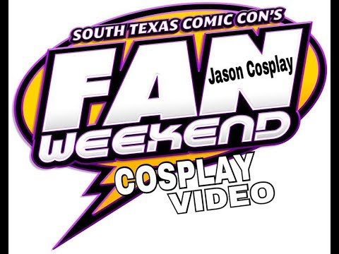 SOUTH TEXAS COMIC CON FAN WEEKEND COSPLAY VIDEO STXCC