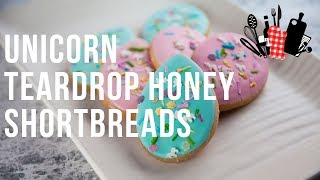 Unicorn Teardrop Honey Shortbreads  Everyday Gourmet S9 EP79