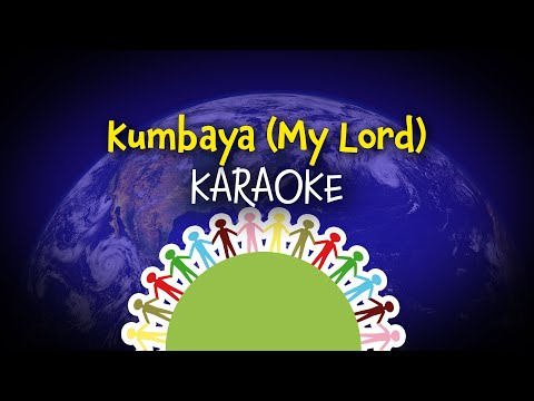 Kumbaya (my Lord) (instrumental with lyrics - karaoke video)