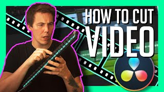 HOW TO CUT VIĎEO in DaVinci Resolve 17- Basic Video Editing Tips