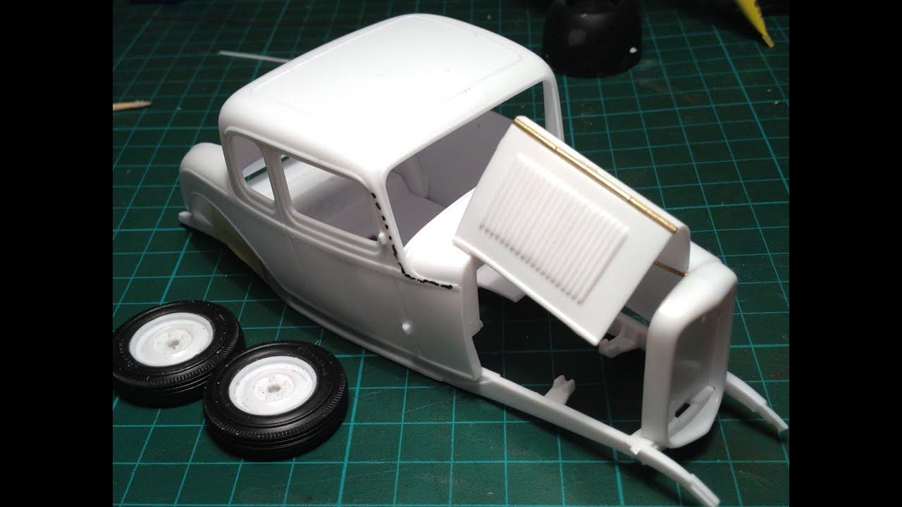 32 Ford Hotrod Making Hood Hinges Modeljunkyard Com