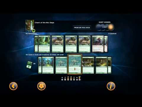 Nemo's Winning Builds: Chant of the Mul Daya - Magic 2014 Duels of the Planeswalkers