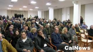 Praia a Mare :: 27/11/2016 :: Ospedale: dure contestazioni alla manifestazione per il SI.