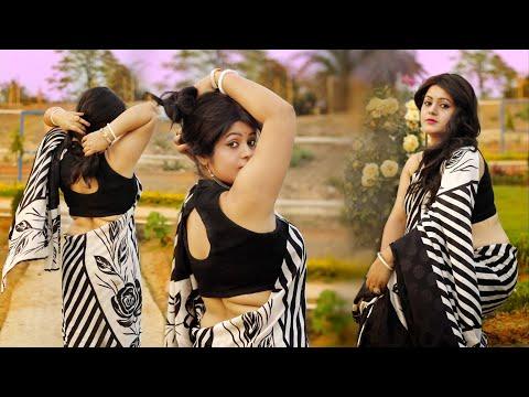 Fashion Photoshoot || Saree Fashion || Cinematic Video || Red Carpet || Mousumi