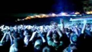Die Toten Hosen - Stage diving Campino - Früher war alles besser - Dresden 27 Juni 2009