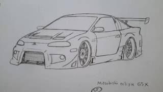 jdm drawings drawing cars paintingvalley