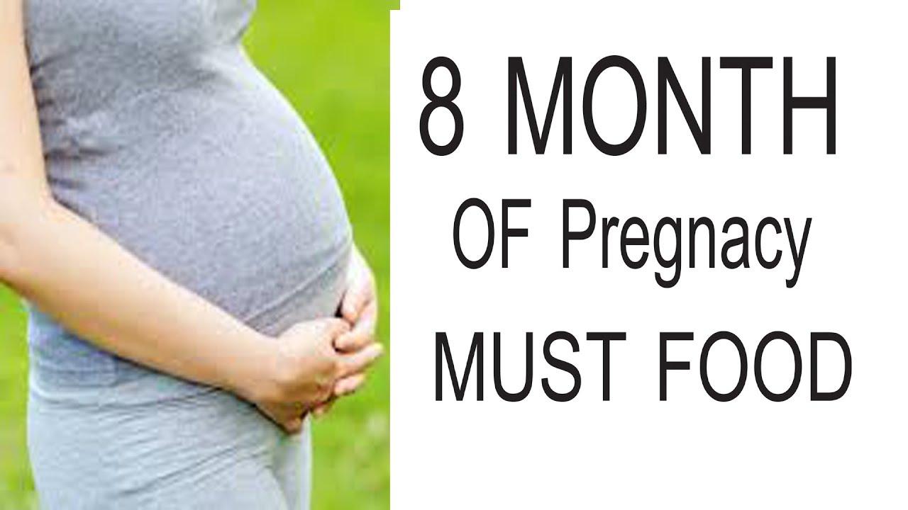 8th month pregnancy diet
