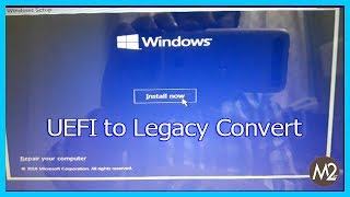 convert windows 10 installation from legacy to uefi |  Win 10, 8.1, 7 & XP