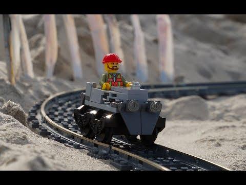 Lego Sand Roller Coaster