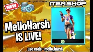 "Fortnite india live||"" New Beach Bomber skin in item shop""