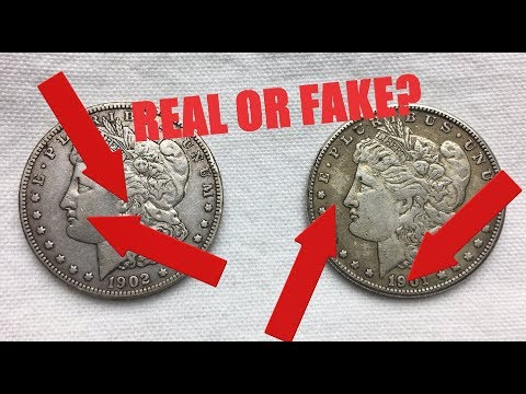 How Can I Tell If My Morgan Silver Dollar Is Real Or Fake?