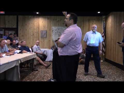 Ohio DNR Division of Forestry presentation on Mohican Forest plan - Aug. 21, 2017