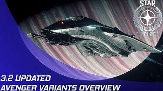 Star Citizen: 3.2 - Avenger Variants Rework Overview!